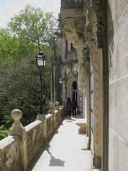 At the balcony (SeppoU) Tags: portugal canon quintadaregaleira sintra snapshot tourist april turisti unescowhs portugali huhtikuu powershots5is näpsy copyleftby seppouusitupa