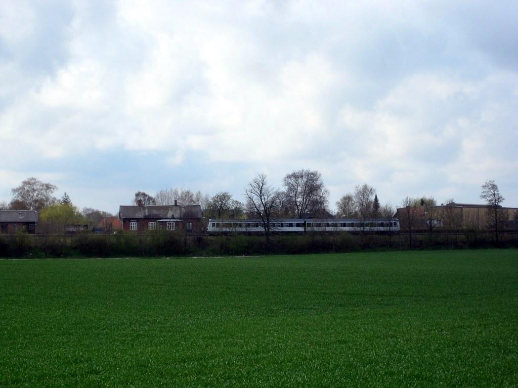 Rail Station Gadstrup, Denmark