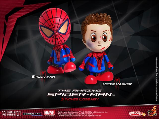 Hot Toys - 蜘蛛人:驚奇再起 Cosbaby 雙人包!