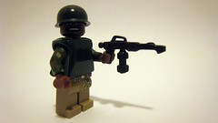 Sgt. Apone (The Brick Guy) Tags: lego aliens scifi custom flamethrower jamescameron minifigure colonialmarines brickarms amazingarmory m1pothelmet sgtapone