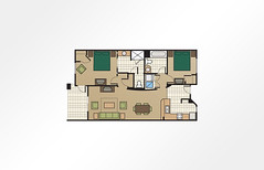 Grande Villas at World Golf Village® 2-Bedroom - 1,124 sq ft