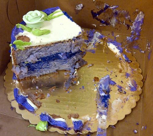 weird purple cake by Lunar Camel Co., on Flickr