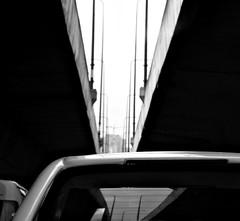 back to bangkok (gregjack!) Tags: road bridge light reflection lines car thailand asia traffic angle bangkok perspective