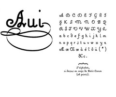 Aui.ttf (Valentin Hay) (PhilBlanc) Tags: typography graphicdesign police font calligraphy script fonte criture typographie graphisme truetypefont calligraphie designgraphique scripttype graphiste