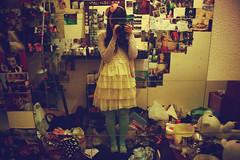 (chimidoro) Tags: uk selfportrait reflection home me self mirror bedroom athome  hikikomori chimidoro  roxannekirigoe chimidoro   roxannekirigoe shikijitsu