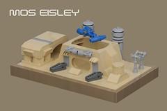Mos Eisley (pasukaru76) Tags: starwars lego tatooine spaceport moc moseisley canon100mm microscale ironbuilder