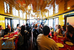 dinner on alova gold cruise (hanoitouronline) Tags: halongbaytours traveltohanoi bookflightticket sapatrekkingtours booktrainticket hanoitoursinformation halongbayonalovacruises ninhbinhecotours hanoionedaytours halongbayonedaytours vietnamhoneymoontours hanoigolftours hanoivillagestours rentthecars