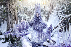 Wonderland 'The Thousand Empty Days of a Frozen Heart' (Kirsty Mitchell) Tags: snow ice fairytale forest frozen woods king magic spell fantasy wonderland icicles enchanted galleon kirstymitchell elbievaneeden wonderlandpartii kinggammelyn