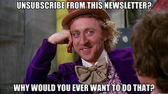 Newsletter unsubscribes