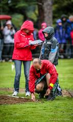 Measuring the long jump (FotoFling Scotland) Tags: scotland kilt isleofskye scottish event gathering kilts portree highlandgames upkilt portreehighlandgames