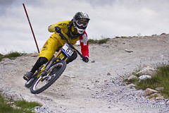 Swiss Rolling (DMeadows) Tags: world mountain cup bike bicycle sport race photography switzerland scotland women rocks track suspension fort swiss extreme wheels helmet goggles champion competition william downhill course full trail event management gloves national mtb jersey emilie forks range rare sponsors mor tyre 2012 uci nevis aonach round3 siegenthaler fullsus tamronaf55200mmf456diiild davidmeadows dmeadows