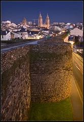 Muralla romana de LUGO (castillerozaldvar) Tags: espaa architecture de la spain arquitectura galicia walls humanidad patrimonio  murallasromanas murallasromanasdelugo castillerozaldivar manuelzaldvar castillon259