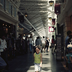 lose your way? (TAT_hase!) Tags: boy film kodak six portra kowa 160 centrair  66 centraljapaninternationalairport