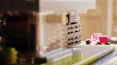 Casa dell'auto rossa // 12 (The Car) (jpmacmillan) Tags: house macro car architecture modern racecar design casa lego garage bricks minimal micro legos blocks racer redcar moc rossa microscale dellauto blockworks