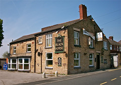 The Black Horse - Moss Bank, St. Helens. (garstonian) Tags: pubs sthelens merseyside mossbank greenalls