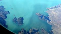 South end of Lake Beyehir (oobwoodman) Tags: lake turkey see trkiye lac aerial turquie trkei luftphoto luftaufnahme aerien zrhdxb zrhdbx