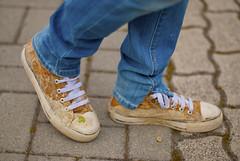 scarpe infangate