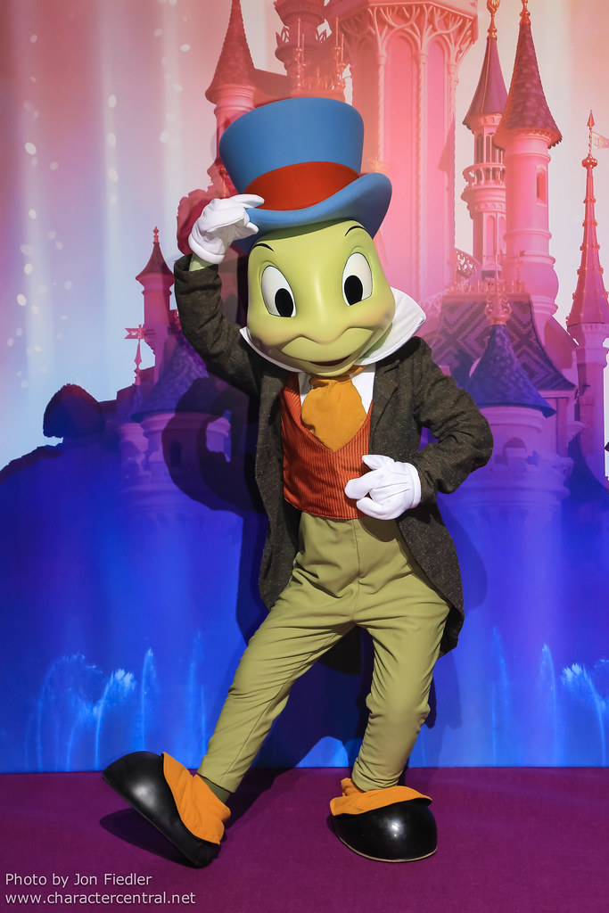 Jiminy Cricket at Disney Character Central