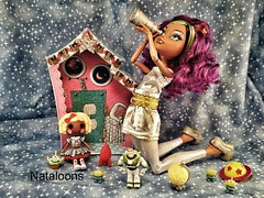 Space Explorers (Nataloons) Tags: fashion monster silver buzz stars toy miniatures high wolf doll handmade space alien mini dot explore story lightyear outer etsy rement explorers mga mattel starlight jemgirl clawdeen monsterhigh clawdeenwolf lalaloopsy melovegangrels