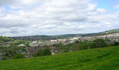 bath178 (southglosguy1982) Tags: city trees sky grass clouds buildings spring bath view