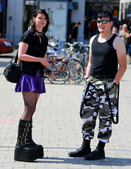 5DJB5457 (Julien Beytrison Photography) Tags: street portrait people germany deutschland boot costume candid snapshot gothic goth leipzig wabe allemagne botte treffen gotik wgt newrock
