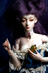 Wicked Queen/Stepmother, Version 2 (bentwhisker) Tags: fairytale doll bjd resin wickedqueen wickedstepmother dollmore modelf sleepyeyesbellaauden 2568l