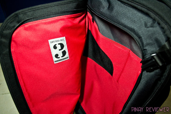 Crumpler Dry Red No 3 luggage