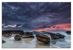 Froggy's Beach Gold Coast (Jayde Aleman) Tags: seascape storm beach water clouds sunrise canon landscape gold coast rocks hard australia tokina 7d nd qld grad hitech snapper froggys 1116mm