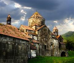 sako-ps2 Haghpat monastery (Sako Tchilingirian) Tags: sunset sky tourism church stone architecture treasure religion historic armenia monuments hdr 2012 sako tchilingirian