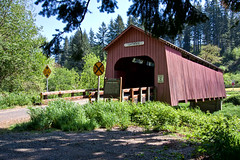 Chitwood Bridge, Chitwood, OR (sandyhd) Tags: chitwood oregoncoveredbridges
