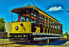 Washington Trolley Museum Tour Car (The Lovelace Photography) Tags: mygearandme flickrstruereflection1