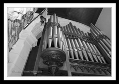 Saint Columbs Organ Mono (donegalblaze) Tags: ireland irish church river catholic cathedral prayer chapel historic aisle holy londonderry service walls mass northern alter protestant derry siege ulster walled foyle cityside doire maidencity londonder
