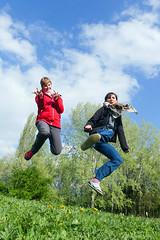 Spiderman & kung fu jump (RodaLarga) Tags: france grenoble lumix jump jumping lx5