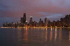 (DJM75) Tags: sky chicago water skyline clouds buildings lakemichigan lakefront seenonflickr