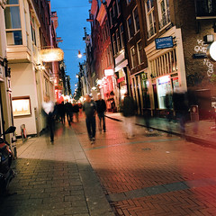 Amsterdam (Peter Gutierrez) Tags: street city urban streets holland film public netherlands dutch amsterdam architecture night buildings dark square evening noche town canal photo europe european nocturnal nacht pavement canals sidewalk peter gutierrez nuit nederlands nocturne notte petergutierrez