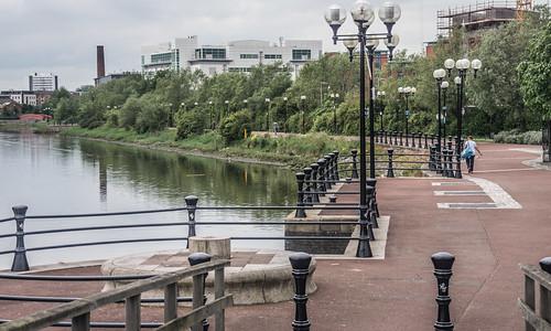 Belfast - Laganside Walkway