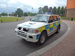 Not Police but NEC Security (BJ56 ONP) (Emergency_Vehicles) Tags: west birmingham centre police security exhibition national nec midlands