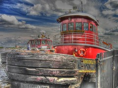 Brooklyn McAllister 2 (podolux) Tags: philadelphia boat waterfront pennsylvania 2006 pa tugboat philly tug pennslanding penna workboat tonemapped july2006 photomatixformac