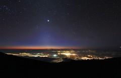 twilight (hawaiiansupaman) Tags: night stars lights maui haleakala