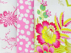 Lucky Girl (clair101) Tags: flowers pretty fresh fabric fabrics freespirit luckygirl modernfabric patchworkfabric jenniferpaganelli fabricbundles wwwclairsfabricscom