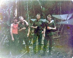 Jungle camp (brian395) Tags: belize puntagorda 1979 rideau guatamalan irishguards rebroadcast britishhonduras signalplatoon rideaucamp 1ig jimhagan cadenasop puertomendez