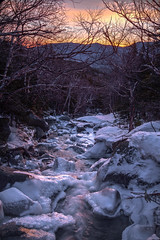 Sunrise over the Wildcat Range and Cutler River (RSBurnsIM) Tags: