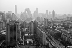 City of Beijing (Mark Griffith) Tags: china work amazon beijing cbd amazoncom oceancenter 20140422dsc2745edit2