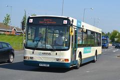 Arriva Volvo B10BLE 8252 X702DBT - Widnes (dwb transport photos) Tags: bus volvo wright widnes arriva renown 8252 trainingbus x702dbt