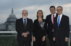"""Visit of Federica Mogherini to the United States for the """"Going Green"""" Conference (European External Action Service - EEAS) Tags: osullivan eeas mogherini washingtonnewseum"""