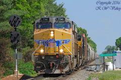 19K At South Leesburg (The Big K-V (Kevin W. Vahey)) Tags: railroad up ns trains marion leesburg ge prr gevo es44ac