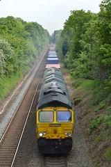66572, Sutton Park (JH Stokes) Tags: photography transport suttoncoldfield tracks trains freighttrains railways trainspotting locomotives tr suttonpark freightliner class66 diesellocomotives freightlocomotive 66572