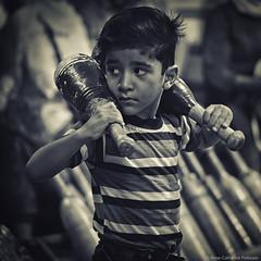 Zurkhaneh Boy, Yazd, Iran (Helvetic Wanderlust) Tags: travel iran persia olympus omd yazd zurkhaneh em5