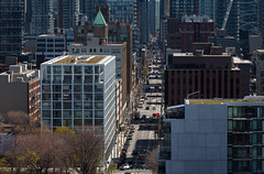 Adelaide Street (Jack Landau) Tags: street city urban toronto buildings downtown cityscape canyon adelaide