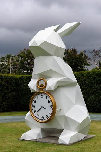 Big white rabbit